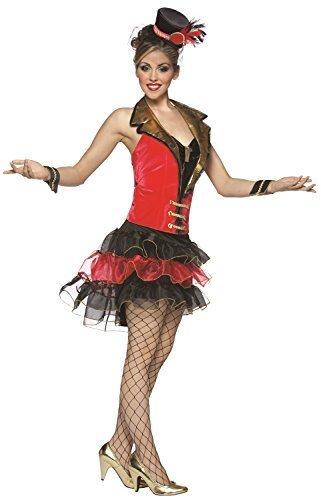 ebte Circus Big Top Karneval Abend Party Kostüm Kleid Outfit (Big Top Circus Kostüm)