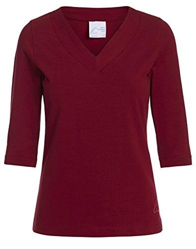 ESPARTO Shirt 'Sundar' Granatrot M