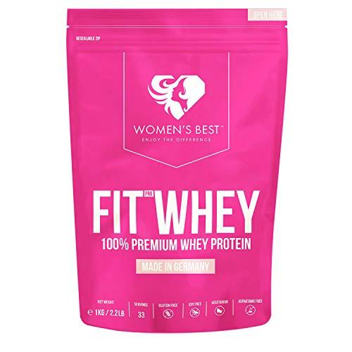 Fit Whey Protein Komplex 1 kg – Protein Shake für Muskelaufbau – Proteinpulver – Eiweiß Shake BANANE