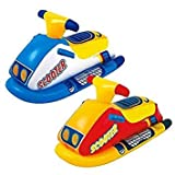 Inflatable Scooter Rider Dinghy Boat Device Kids Water Toy Swimming Pool Float Age 3+ Summer Holiday Beach