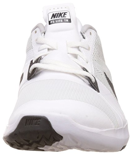 Nike - Fs Lite Trainer 3, Scarpe sportive Uomo Bianco / nero / argento (bianco / nero-Pure Platinum)