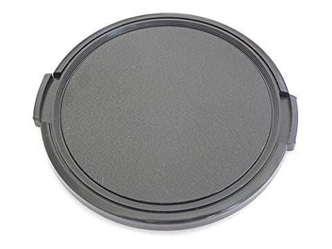 Protège-objectif noir vhbw 72mm avec griffe sur le côté pour appareil photo Pentax HD DA 16-85 mm F3, 5-5, 6 ED DC WR