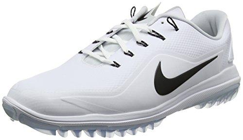 Nike Lunar Control Vapor 2, Scarpe da Golf Uomo, Bianco (Blanco 100), 45.5 EU