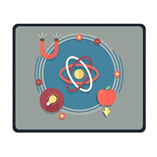 Deglogse Gaming-Mauspad-Matte, Smooth Mouse Pad Physics Test Mobile Gaming Mousepad Work Mouse Pad Office Pad
