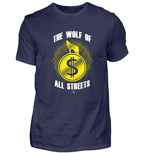 EBENBLATT The Wolf of All Streets Dolar USD Geld US-Dolar Kurs Exchange Rate Geschenk Geschenkidee - Herren Premiumshirt - Rate Geld Exchange