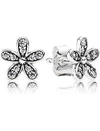 Pandora Earrings 290570CZ Women's Bright Daisies