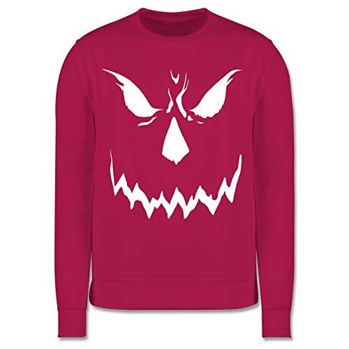 Shirtracer Anlässe Kinder - Scary Smile Halloween Kostüm - 7-8 Jahre (128) - Fuchsia - JH030K - Kinder Pullover