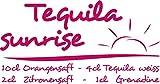 GRAZDesign 620120_30_041 Wandtattoo Rezept Tequila sunrise Cocktail für Küchen-Wand | Küchen-Sprüche für Küchenrückwand | Wandsticker aus Markenfolie - auch für Esszimmer (58x30cm//041 pink)