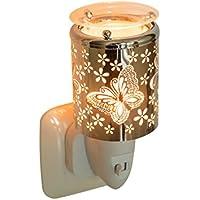 Pajoma 44529 luz nocturna - quemador de esencias butterfly