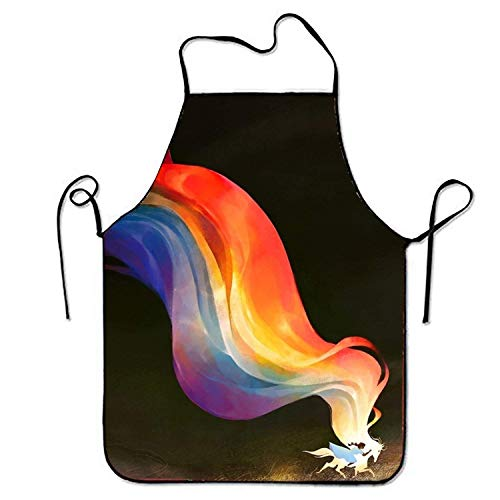 Kostüm Fox Ziel - Jhonangel Fox and Pinecone Schürze zum Backen Basteln Gartenarbeit Kochen Langlebig Leichte Reinigung Kreative Lätzchen für Mann und Frau Standardgröße