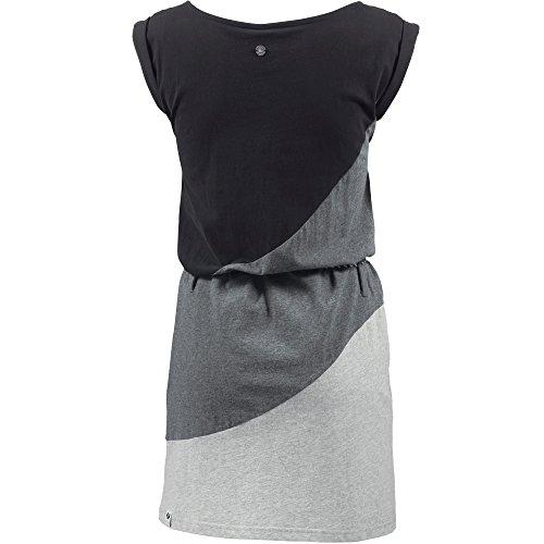 Ragwear Damen Jerseykleid schwarz L - 2