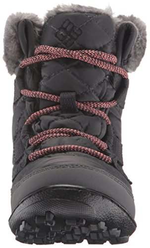 Columbia Youth Minx Shorty Omni-Heat, Chaussures Multisport Outdoor Fille Noir (Shark/Melonade 011)