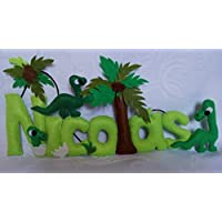 Nombre personalizado modelo Dinosaurio