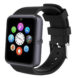 Willful Smartwatch, Reloj Inteligente Android con Ranura para Tarjeta SIM,Pulsera Actividad Inteligente para Deporte, Reloj Iinteligente Hombre Mujer niños, Reloj de Fitness con Podómetro Cronómetros 10