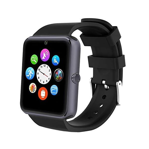 Willful Smartwatch, Reloj Inteligente Android con Ranura para Tarjeta SIM,Pulsera Actividad Inteligente para Deporte… 1