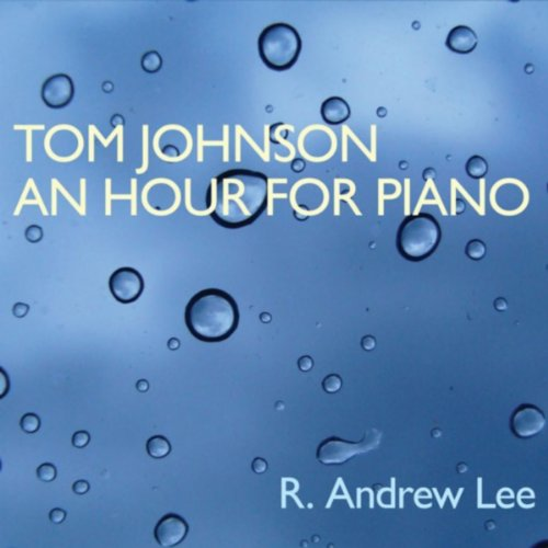 Preisvergleich Produktbild Tom Johnson:An Hour for Piano