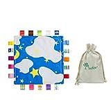 Inchant Lovely Baby Soothing Sicherheit Decke Decke mit Regenbogen-Farbbänder / Stichworte