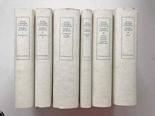Schriften und Briefe, 6 Bände