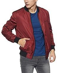 Monte Carlo Mens Cotton Jacket (217039606-1_Red_42)