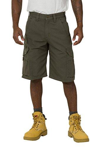 Carhartt Ripstop Work Shorts - Green Men's Rugged Workwear CS.B357.MOS