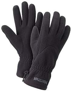Marmot Damen Handschuhe Fleece, true black, XS, 1880-1332-2