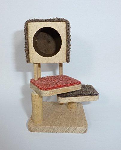 Preisvergleich Produktbild Caco 20520100 Katzenbaum für 1:12 Puppenhaus