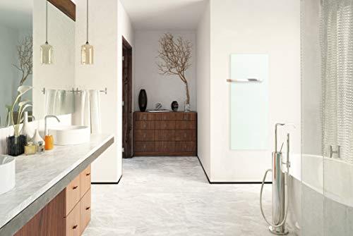 ETHERMA 35910 LAVABATH Glasheizkörper Weißgrün Bild 2*