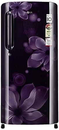 LG 190 L 4 Star Direct-Cool Single Door Refrigerator (GL-B201APOX.APOZEBN, Purple Orchid,Inverter Compressor)