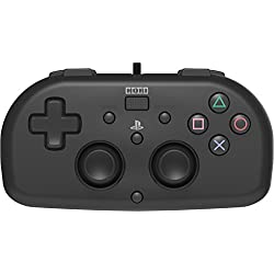 Hori - Mando Mini Con Cable para PS4 Negro