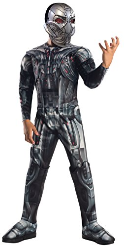 Rubies 's it610442-s - Ultron Avengers 2 Deluxe disfraz, con músculos, talla S