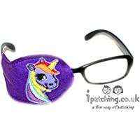 Kids and Adults Orthoptic Eye Patch For Amblyopia Lazy Eye Occlusion Therapy Treatment Unicorn Design