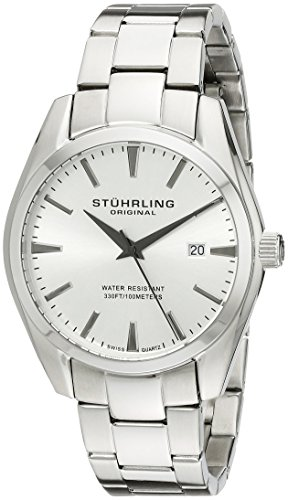 41n03 y7kIL - Stuhrling Original Silver Mens 414.33112 watch