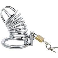 Dispositivo de castidad, cinturón de castidad, gestión masculina de la eyaculación restringida, SM juego con candado, polla cerradura pareja juguetes para adultos