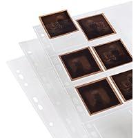 Hama Negativarchivierungshüllen (Polypropylen, für 8 Einzelnegative im Format 6 x 6 cm)