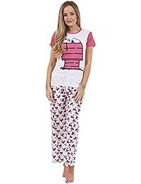 ac3c21980 Conjunto de Pijama de Manga Corta para Mujer - Snoopy