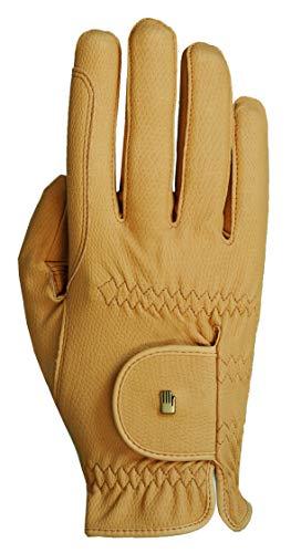 Roeckl Roeck Grip Handschuh, Unisex, Reithandschuh, Sämisch, Größe 9