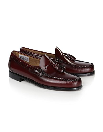 Weejuns Larkin Tassel Loafers Wine Leather10H - Bass Loafer