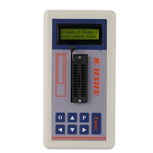 KKmoon Multi-funzionale Tester Transistor / 5.0V / Modalità Ricerca Automatica