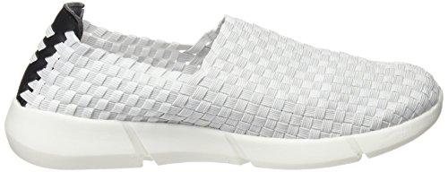 BASS3D 041256, Chaussures femme Blanc