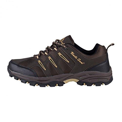 HSM, Chaussures montantes pour Homme dunkelbraun/multi