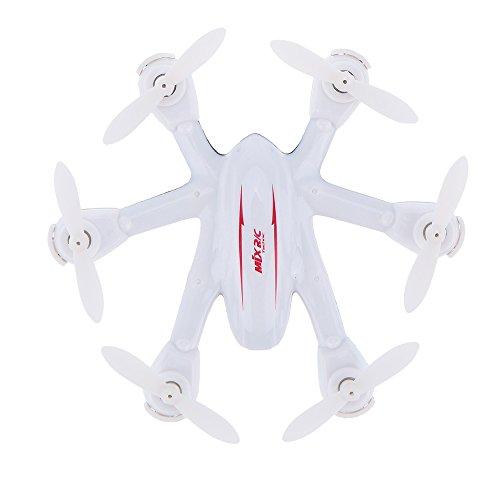MJX X9012.4G 4Kanal 6Achsen Hexacopter mit Sender, weiß