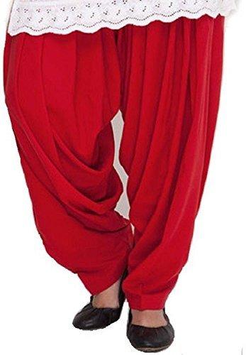 Black macy Red Cotton Patiyala