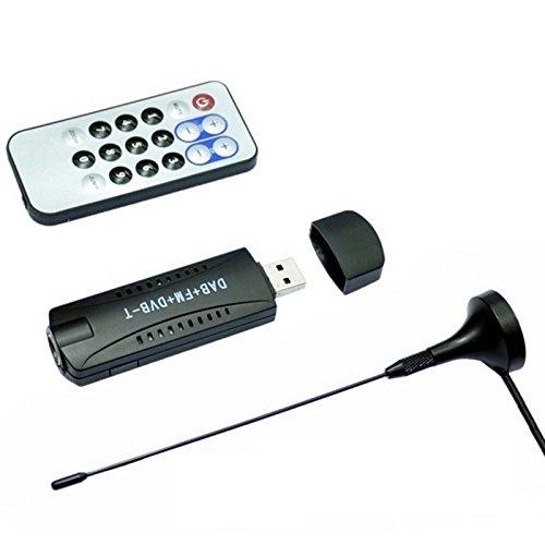 SODIAL USB DVB-T + RTL-SDR Realtek RTL2832U + R820T DVB-Tuner Empfaenger PAL IEC