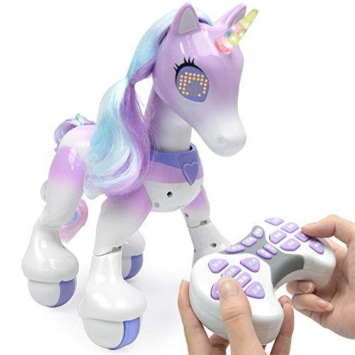 Neckip Elektrische intelligente pferd fernbedienung einhorn kinder neue roboter touch induktion elektronische haustier pädagogisches spielzeug