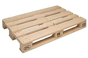 Pallet in legno EPAL-EPAL certificato - SET 10 PEZZI - cm 120*80 - Nuovo