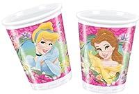 """Il Bicchiere Disney Principesse in Plastica 200 ml decorerà con fantasia e allegria la tavola imbandita a festa per il compleanno della vostra """"principessa"""". Confezione: 10 bicchieri. 200 ml."""