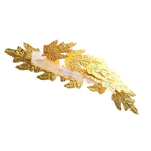 Gazechimp Lorbeerkranz golden Gold Cäsar Römer Olympia Sieger Karneval Party (Griechische Göttin Kopfschmuck)