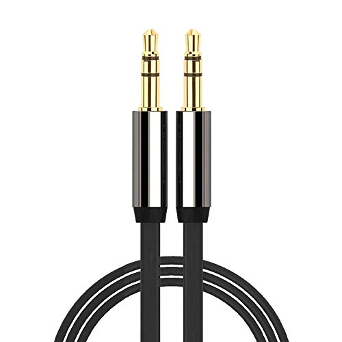 3.5mm to 3.5mm GOLD AUX JACK CABLE LEAD IPOD AUDIO MP3 1m lead Length - VASI4KO