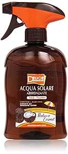 Delice - Acqua Solare Abbronzante, Carotene + Aloe Vera - 500 ml - [pacco da 6]