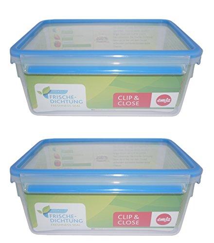 emsa butterdose 2x emsa Vorratsdosen 0,25l